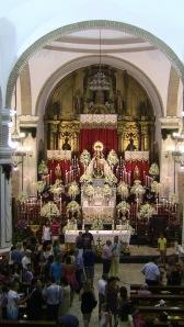 La Archicofradía volvió a presentar un magno altar de Novena.